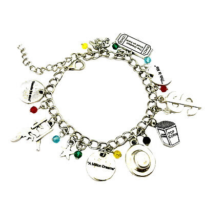 The Greatest Showman Broadway Musical (10 Themed Charms) Metal Charm Bracelet