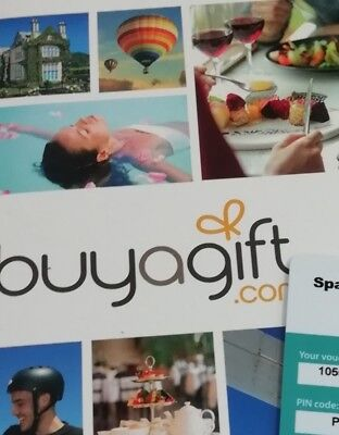 Buyagift Voucher, Spa Day For 2 (can be exchanged or extended) Clacton