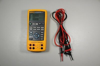 Excellent Condition Fluke 725 Multifunction Process Calibrator with Leads