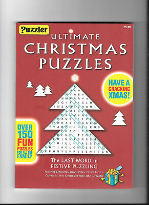PUZZLER # Ultimate Christmas Puzzle Book #  over 150 puzzles #  Great XMAS Gift