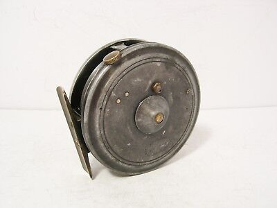 "Vintage Antique Alloy Dingley 3"" Trout Fly Fishing Reel"