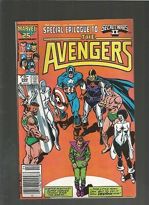 The Avengers #266 VF Marvel COMICS  (1986) COMBINE SHIP CAPTAIN MARVEL
