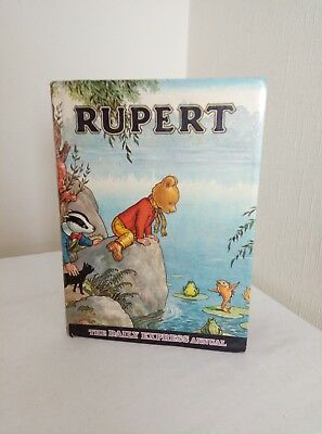 RUPERT BEAR ANNUAL 1969 unclipped