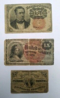 Lot of Fractional Currency