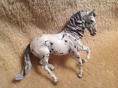 "BREYER "" ALBOROZO "" LEOPARD APPALOOSA "" **MINI 4x3***Custom handpainted by Ernie"