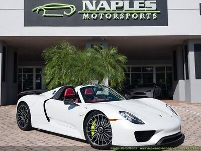 2015 Porsche 918 Spyder  2015 Porsche 918 Spyder - Paint to Sample - 148 Miles - Carbon Fiber
