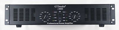 GTD Audio 2 Channel 8500 Watts Professional Power Amplifier Amp Stereo J8500