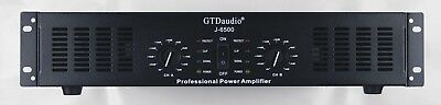 GTD Audio 2 Channel 6500 Watts Professional Power Amplifier Amp Stereo J6500