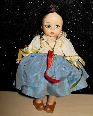 "Madame Alexander-KIN ISRAELI International Vintage 1960s Doll 7"" EUC LOVELY DOLL"