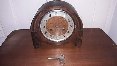 Lovely Old Vintage Clock With Key