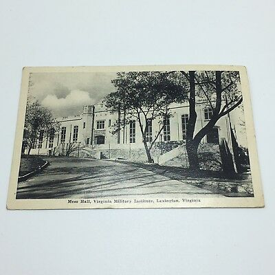 Vintage1944 Postmarked postcard from VMI Lexington VA Graycraft Card Co