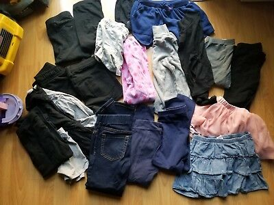Lot of girls clothes size 6/7-7/8 21pieces! Gap,Old Navy,Cat and Jack!! And more