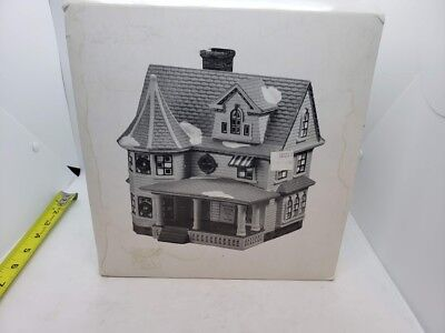 Department 56 THE DOCTOR'S HOUSE Lighted House Snow Village Figurine Christmas