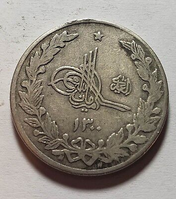 1298-1303 1919-1924 Afghanistan 2 1/2 Rupees Silver