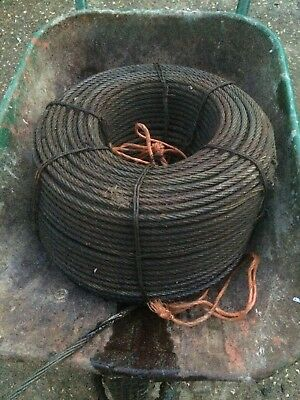 250m Meter Roll Of Winch Cable Wire Rope