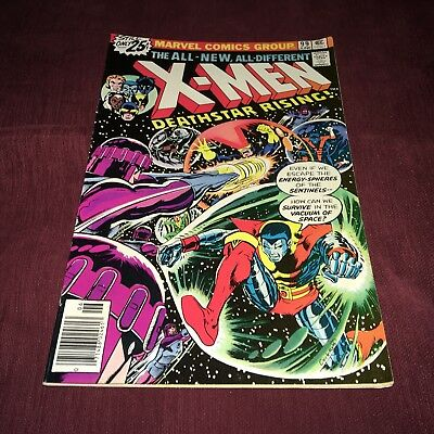 X-MEN #99 (1976) Near Mint White Pages Deathstar Rising Bronze Age Marvel Comics