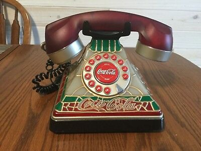 Coca Cola Vintage desk phone