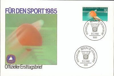 Germany Berlin FDC table tennis Tischtennis ez03