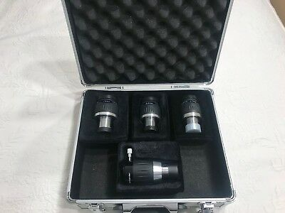 Meade 1.25-Inch Ultra Wide Angle Eyepiece Set plus case - 4.7, 8.8, 14 mm and 5x