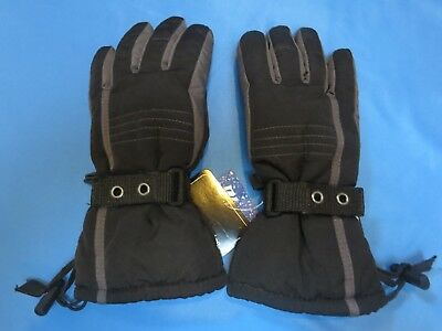 NEW Boys Glacier's Edge 3M Thinsulate Gloves, Size 4-7