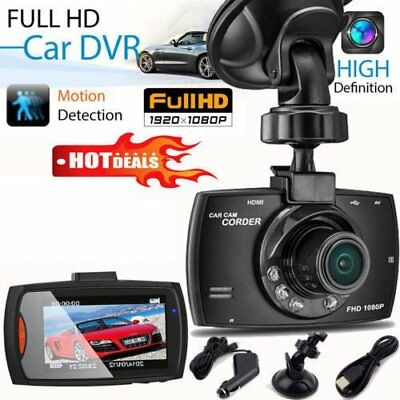 "2.7"" Autokamera Recorder KFZ DVR Überwachung Dashcam HD 1080P Video G-Sensor E1"