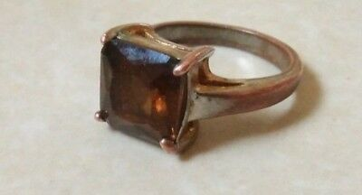 rare ancient antique roman ring bronze with stone