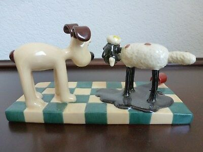 """coalport wallace and Gromit """"Oh what a mess"""""""