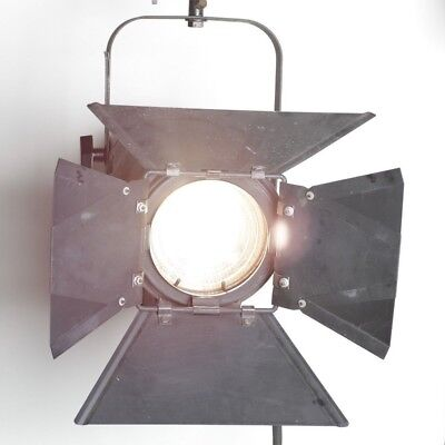 Kliegl Brothers 750 Watt Light Cat # 3606 Tungsten Fresnel With Barn Doors