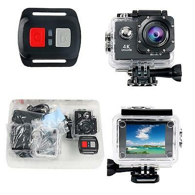 "4K WiFi Waterproof Sports Action Camera HD 12MP Action Camcorder 2"" LCD Screen"