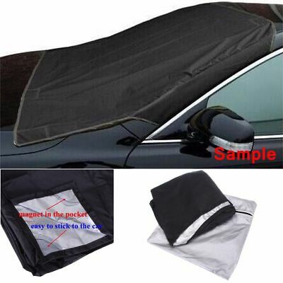 Magnetic Windscreen Cover Car Window Screen Ice Shield Frost  Dust Protector DD
