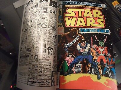 Star Wars #8 *rare Double Cover* & *first Print* Kane/thomas Very Fine (1978)