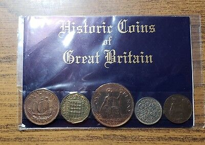 Historic Coins of Great Britain Set