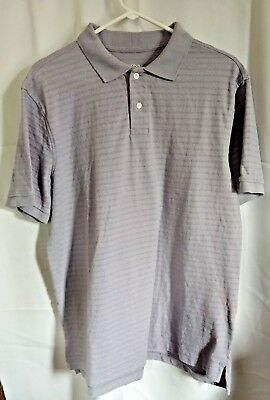 5194cae6 MERONA THE ULTIMATE Polo Classic Fit Shirt Men Purple Pocket (L) New ...