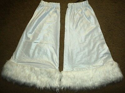 Leg Warmers by Foreplay. New w/ Tag. One Sz. Adult. White.