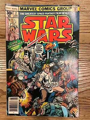 Star Wars #2 Marvel Comics August 1977 Raw Ungraded Uncertified