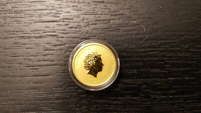 2010 1/10 oz Gold Lunar Year of the Tiger (Series II) $15 Dollars