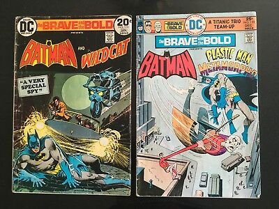 Brave and the Bold, Lot of 23 Issues - DC Bronze Age - Very Good Condition