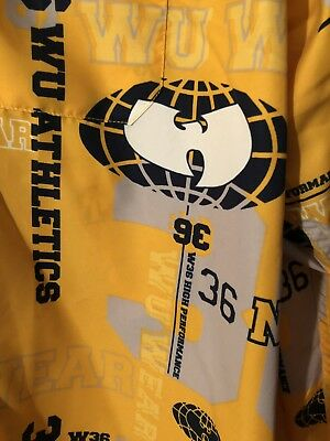 Vintage Wu Tang Wu Wear 36 NYC Size 3XL