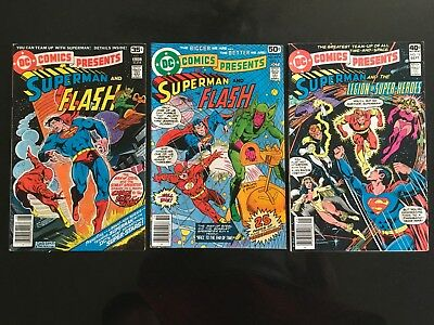 DC Comics Presents - LOT OF 21 ISSUES - DC Bronze Age - Very Good Condition
