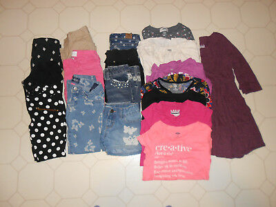 18 Mixed Items |Girls clothes size 6, 6/6X & 6/7 Tops | Bottoms | Jeans | Shorts