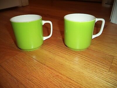 Set 3 Vintage Harmony House Emerald Isle Ironstone Cup Mug Japan