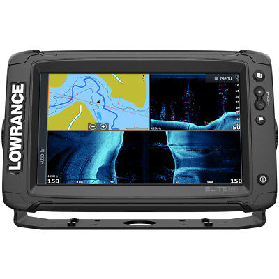 Lowrance Elite-9 Ti² Combo W/active Imaging 3-In-1 Tm Transducer  000-14648-001
