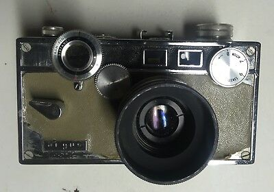 Vintage Argus C3 Brick Matchmatic THE BRICK Variant Film Camera