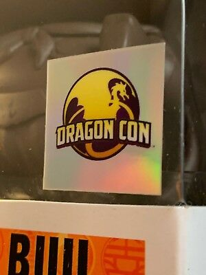 Dragon Con Replacement Sticker (DBZ Chocolate Majin Buu Dragon Ball z )
