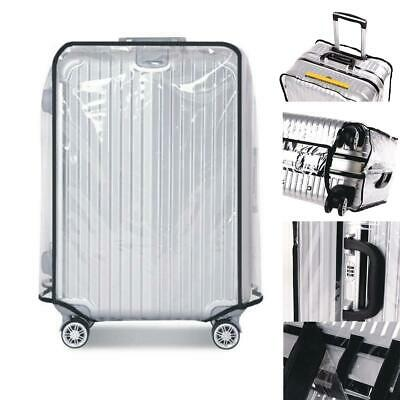 "Waterproof Transparent Protective Suitcase Cover for all Suitcase Size 20""~30"""