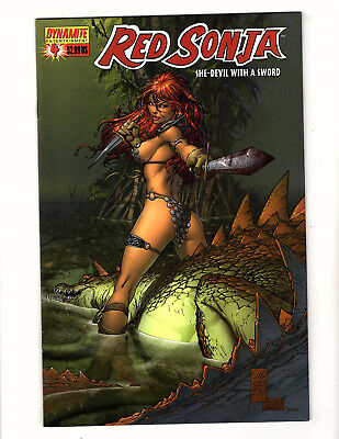 Red Sonja #4 (2006, Dynamite) NM She-Devil with a Sword Marc Silvestri Cover