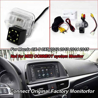 Car Rear View Park Reverse Camera Adapter for Mazda CX-5 CX5 2012 2013 2014 2015
