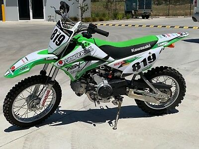 Kawasaki KLX110 MY16 Only 6 rides on it well looked after suit new buyer