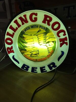 Rolling Rock Circle Light