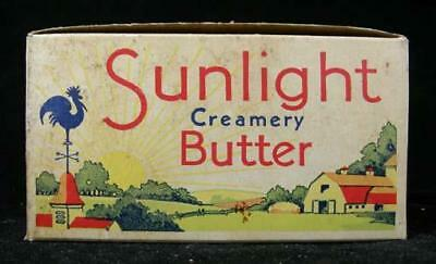 Sunlight Cudahy Packing Chicago, IL l lb. Square Butter Box